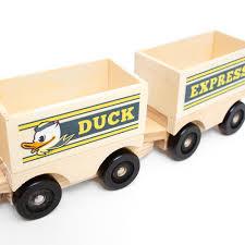 oregon mascot wood train toy