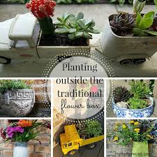 Creating Unique Flower Planters