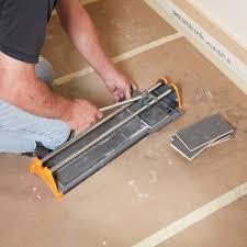 cut the end tiles