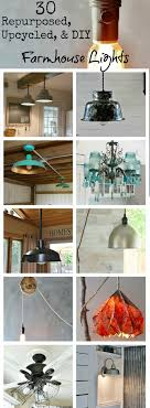 farmhouse lighting ideas. farmhouse lights and lamps via knick of time lighting ideas t