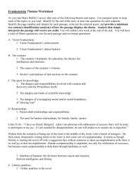 frankenstein thesis ideas frankenstein theme analysis example doc