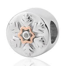 clogau snowflake swarovski topaz milestones charm 3sllc514 t h baker family jewellers