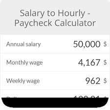 Hourly To Salary Chart Employment Forms Templates Vapeaddict Co