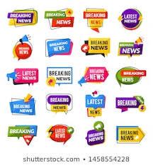 News Report Template Stock Illustrations Images Vectors
