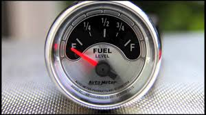 fuel level gauges autometer how they work how to install tutorial Old Fuel Gauge Wiring fuel level gauges autometer how they work how to install tutorial instructions ohms wiring youtube Fuel Gauge Problems