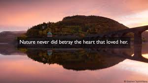 Quotes Of Nature Beauty Best Of BBC Culture Eight Beautiful William Wordsworth Quotes On Nature