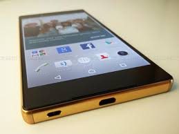 sony xperia z5 premium gold. oozes premiumness: sony xperia z5 premium gold