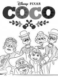 Coco Kleurplaten Topkleurplaatnl