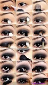 step by step black eye makeup tutorial
