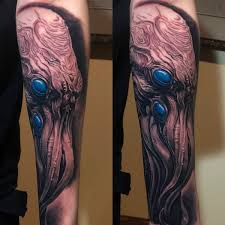 Dom Qwek On Twitter Amazing Tattoo Based On My Cthulhu Sculpture