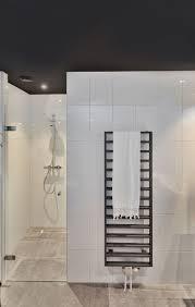Ein Neutrales Badezimmer Mit Schwarzer Decke Badezimmer Decke