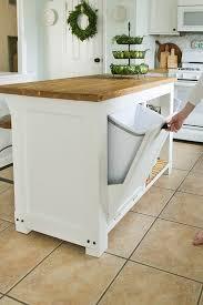 diy kitchen island cart. Kitchen Graceful Island Storage Ideas With Garbage Can Regarding Inside Small Diy Cart