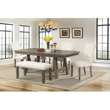 Amazoncom  Bowman Wood Picnic Table Style Outdoor Dining Set Dining Room Table With Bench Seats
