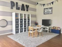 Design For Basement Fascinating Interior Cute Basement Playroom With Tv Ideas Interiorcute Kids Play
