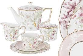 <b>Сервиз чайный</b> Anna Lafarg Emily Цветы, AL-M2124/<b>21</b>-E9, на 6 ...
