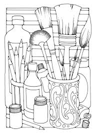 Easy Adult Coloring Pages Coloring Pages