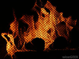 stainless steel mesh is often used to make fireplace screens