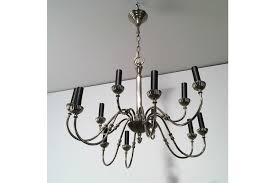 neoclassical lighting. Perfect Lighting Silver Plated 12 Lights Neoclassical Chandelier Circa 1940 Photo 1 In Lighting U