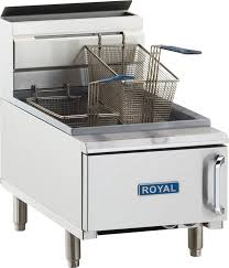 deep fat fryers royal range of california inc