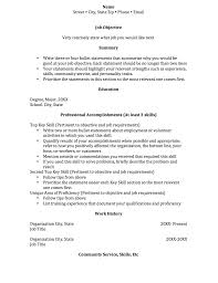 Resume Functional And Chronological Resume