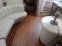 interior boat flooring by custom marine carpentry 101 amtico marine wood fort lauderdale florida