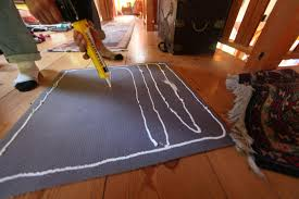diy busters no slip carpet fix gone bad trash backwards blog silicone caulking works perfectly on the backside of your carpet pad for making a tacky