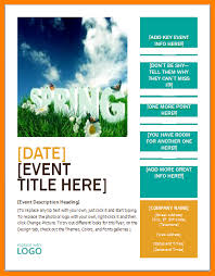 Flyer Templates Microsoft Word 8 Event Brochure Template Microsoft Word Business