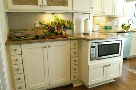 kitchen cabinets storage options solid brown cabin black marble table countertops finish varnished wooden cream belmont