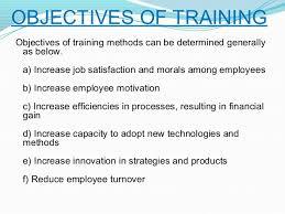 On Job Training Objectives On The Job Training Objectives Examples Archives Hashtag Bg