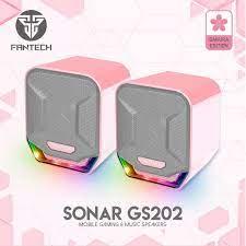 Loa vi tính Gaming siêu gọn nhẹ Fantech GS202 SONAR LED RGB - HÀNG CHÍNH  HÃNG - Loa Vi Tính