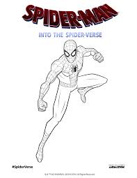 Spiderman motorcycle coloring pages, superheroes motorbike, bike coloring video for kids. Spider Man Into The Spider Verse 2018 Activity Pages Album On Imgur