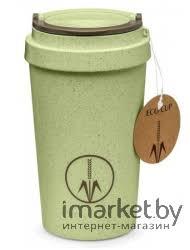 Характеристики <b>Термокружка Walmer</b> Eco Cup <b>0.4 л</b> зеленый ...