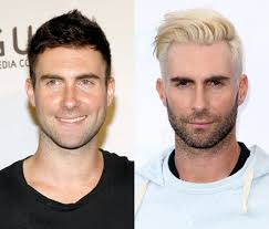 dear adam levine if you want to experiment with your looks keep dying your