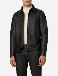 you ll never go wrong with the modern day classic a leather jacket the zac features a clean cut look and lesser details actually makes it even more of a