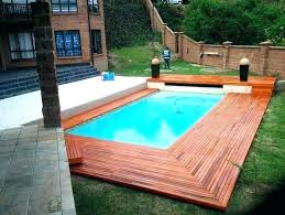 wooden pool deck kits wood with above ground packages kit