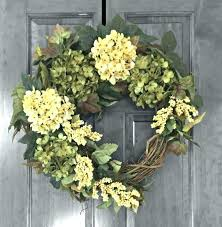 astounding front door wreaths uk hydrangea spring wreath door front silk outdoor wreaths for
