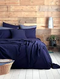 navy blue bedding in a rustic bedroom our ever so soft 100 cotton navy blue duvet navy blue duvet cover