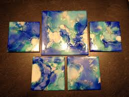 2048x1536 tile coasters using sharpie markers and alcohol inks diy craft sharpie painting