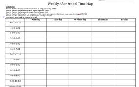 Student Log To Get Baseline Of Time Management Needs After