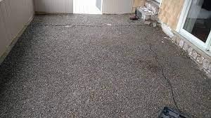refinish diy concrete patio