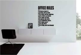 vinyl wall art office