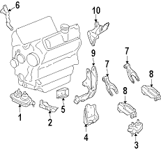 2007 chevrolet impala parts gm parts department buy genuine gm 5 shown see all 6 part diagrams