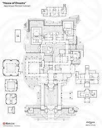 house of dreams wip4 by phaeton99 on deviantart houses and Strange House Plans house of dreams wip4 by phaeton99 on deviantart strange house plants