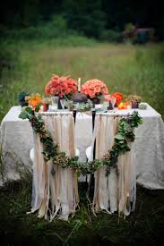 #DBBridalStyle garland connecting bride and groom chair