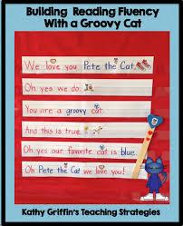 Pocket Chart Poems For Kindergarten Pete The Cat Pocket Chart Activity Via Kathy Griffins