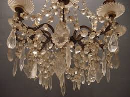 antique french chandelier with shades
