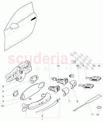 Bentley continental gt 2011 door handle outer door latch f 3w 7zxyr7ld57h5vanj7rct 39827 car diagram door handle car diagram door handle