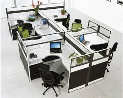 office workstation designs. luxury new design modern used office workstation for 6 person designs o