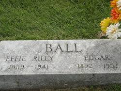 Effie Plumie Riley Ball (1890-1941) - Find A Grave Memorial
