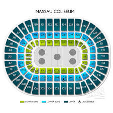 Nassau Coliseum Seating Chart Hockey Nassau Coliseum Seating Guide For The Renovated Long Island